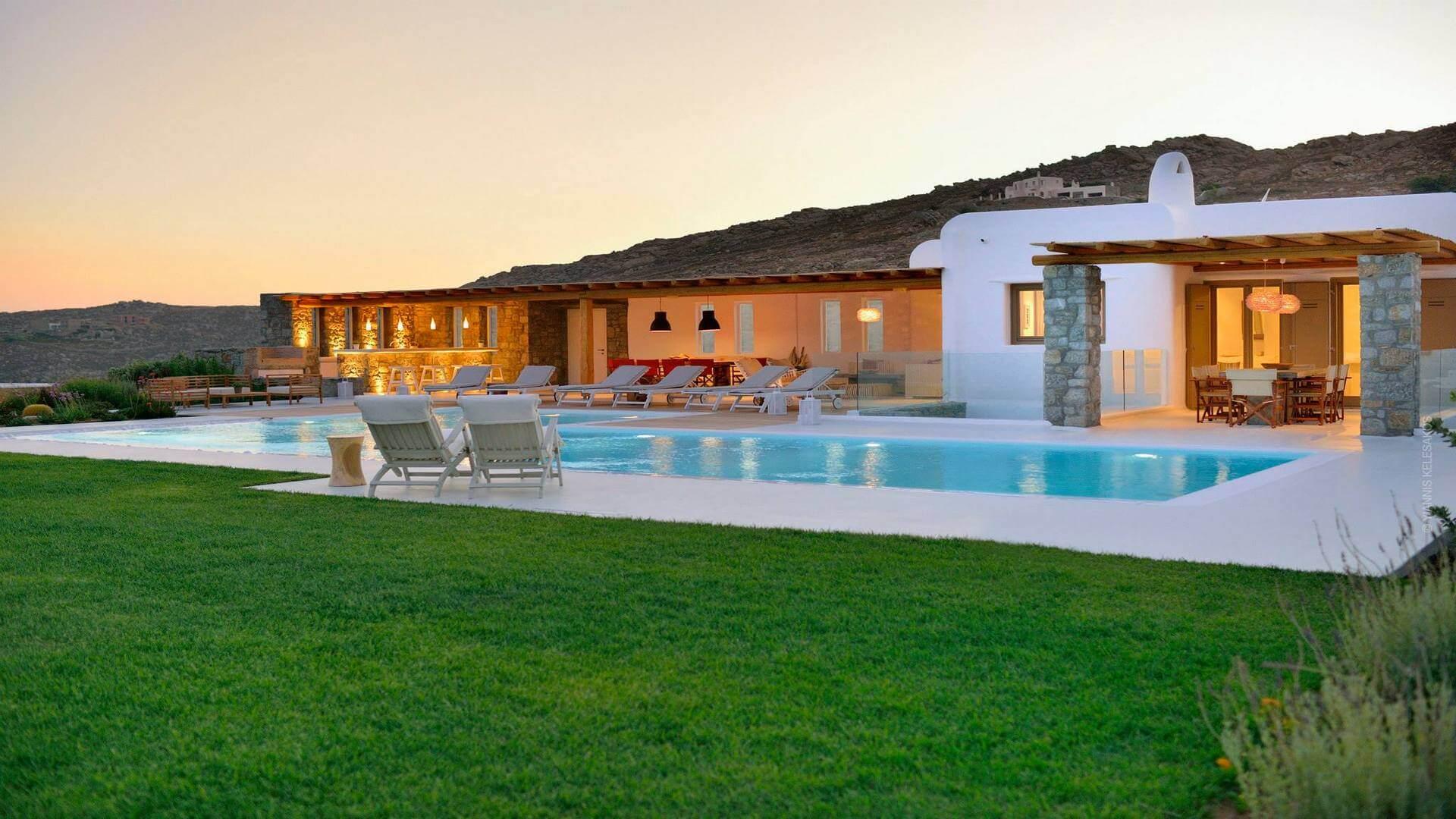 Villa Caitleen Elia Mykonos