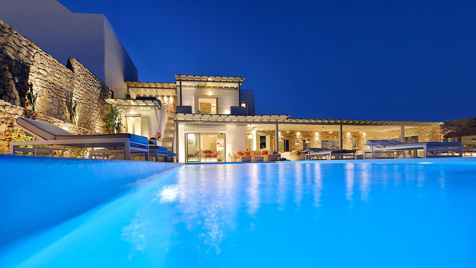 Villa Winona for rent in Mykonos
