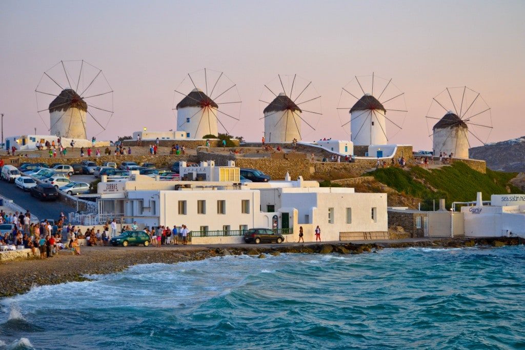 The Mykonos Windmills (Kato Milli)