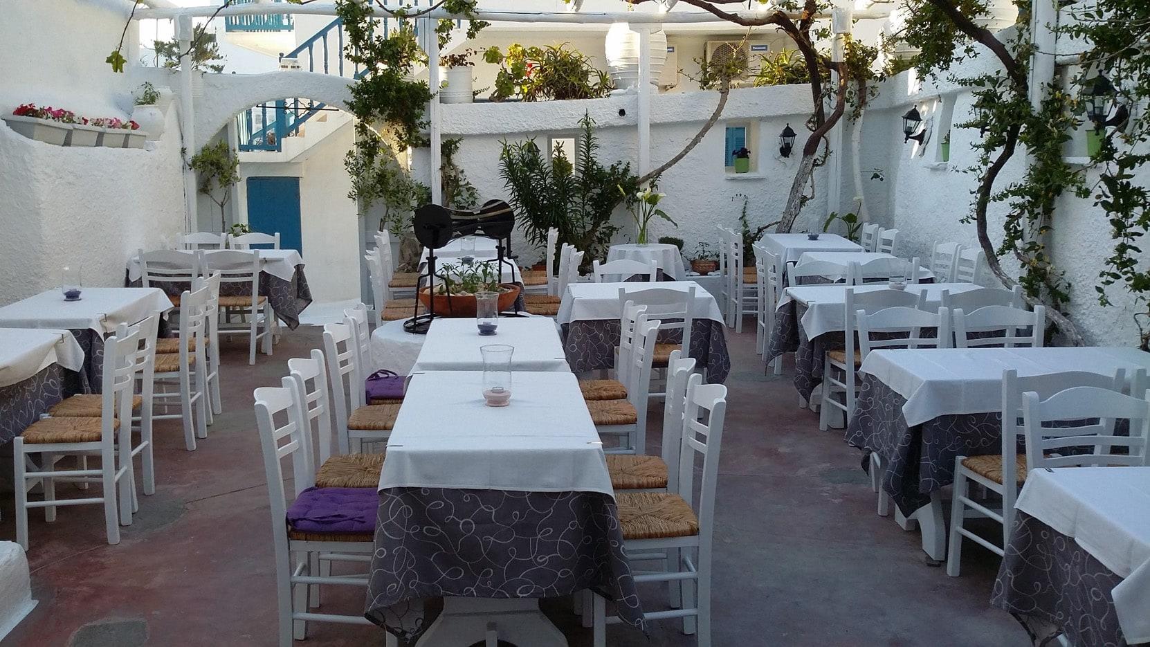 Eva's Garden in Mykonos Chora