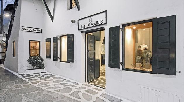 Lalaounis Mykonos Jewelry Store