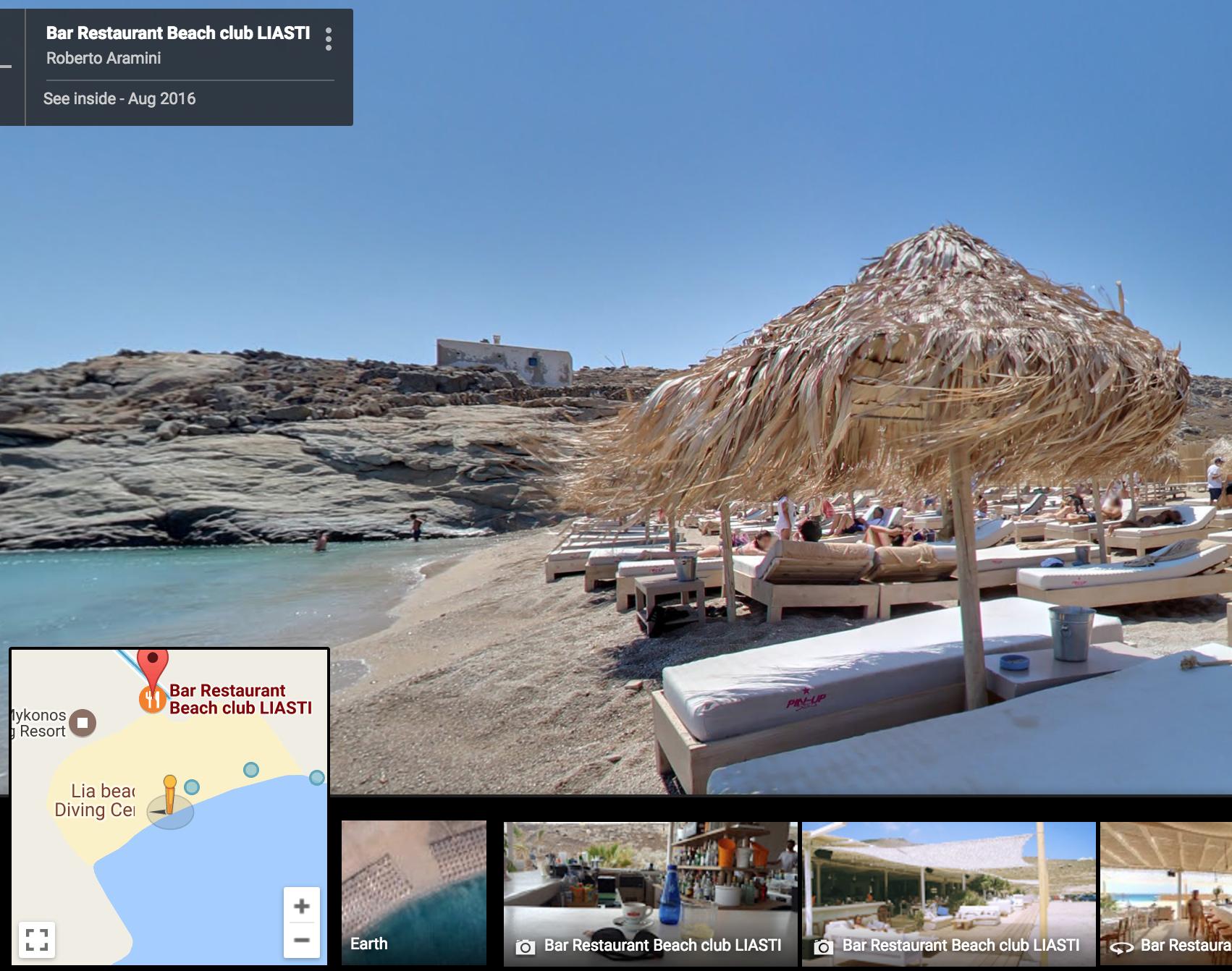 Liasti Beach Bar, Lia Beach