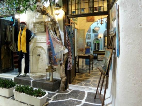Mykonos Matoyanni Street