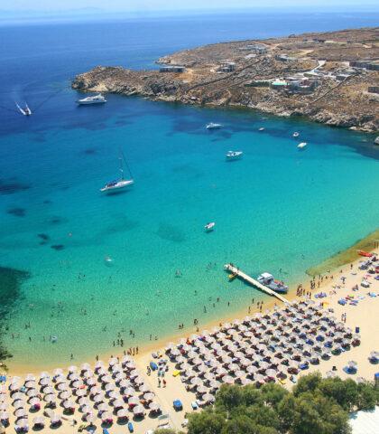 Mykonos Beaches: Kinglike Sun, Sea, Salt, Sand and water mix (Updated 2021)
