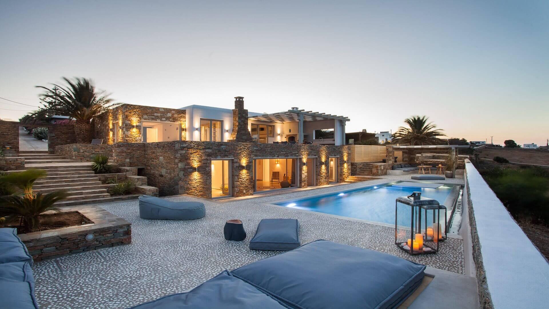 Best Island Beaches For Partying Mykonos St Barts: Villa Zeynep Mykonos