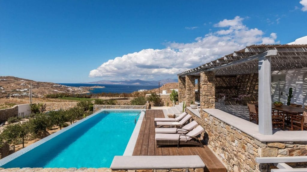 Villa Athena Ornos Mykonos