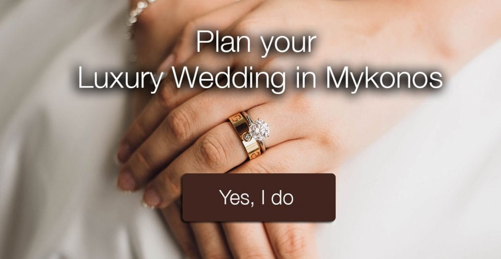 Mykonos luxury wedding services