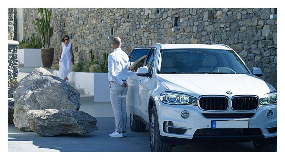 luxury cars rent mykonos