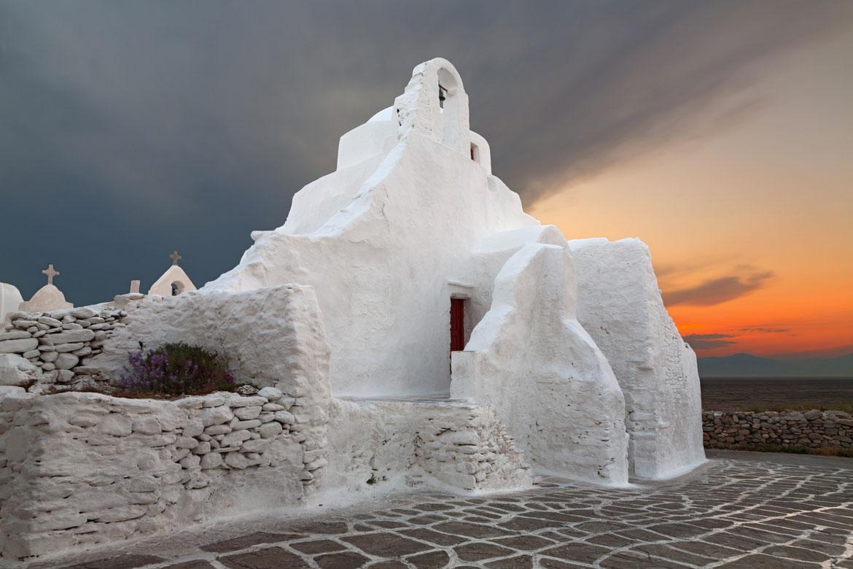 Paraportiani Architecture Mykonos
