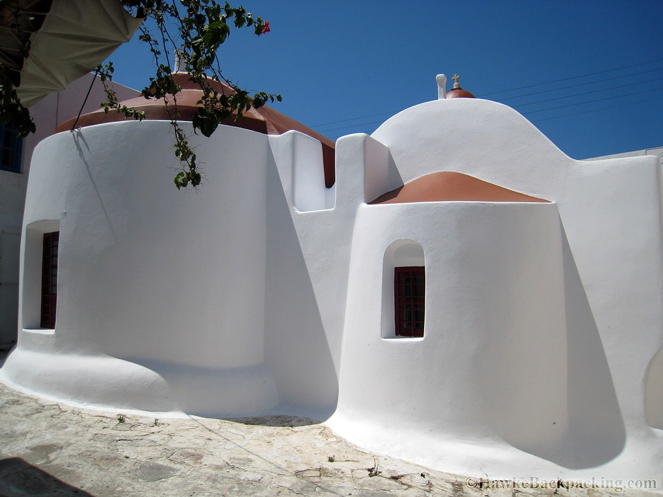 Typical Mykonos cottage