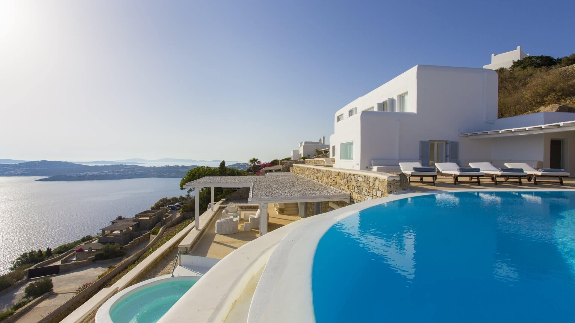 Villa Indigo Agios Lazaros Mykonos
