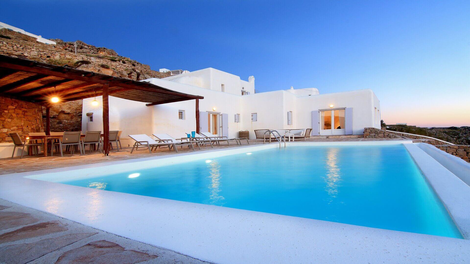 Villa Mia With Private Pool In Mykonos Kinglike
