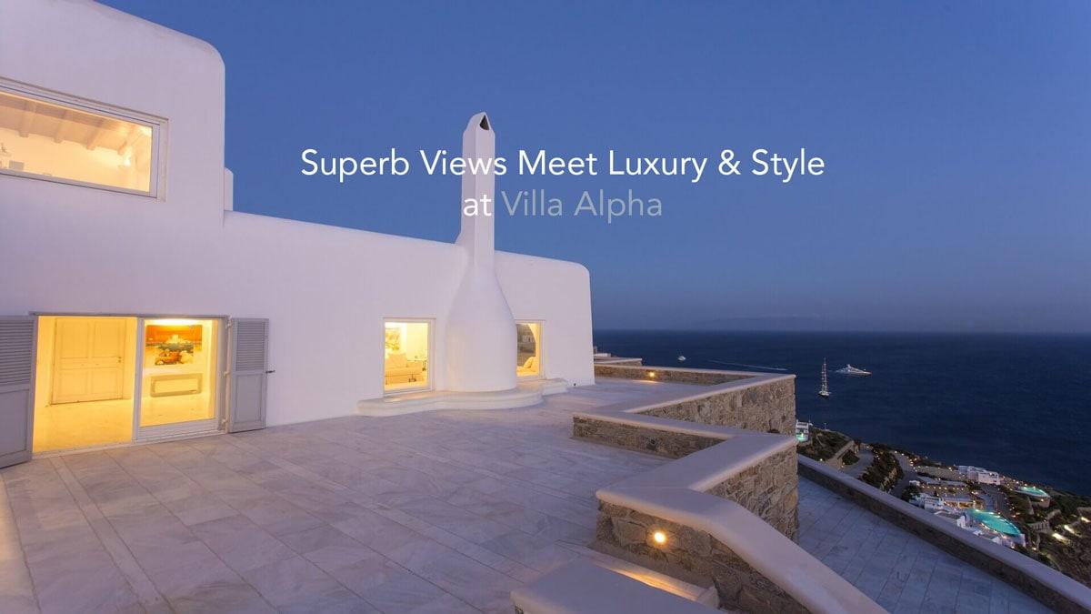 Superb Views Meet Luxury & Style