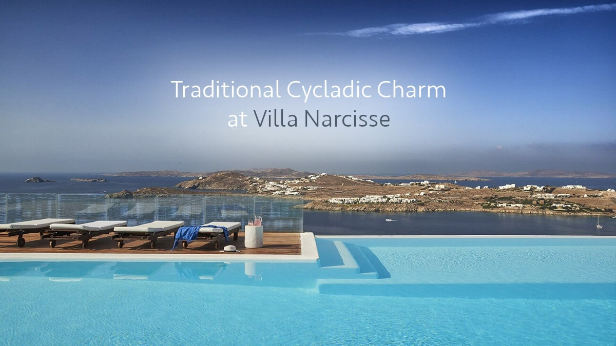 Traditional cycladic charm