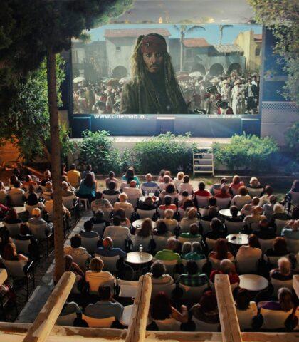 Cinemanto: The Magic of an Open-Air Cinema in Mykonos