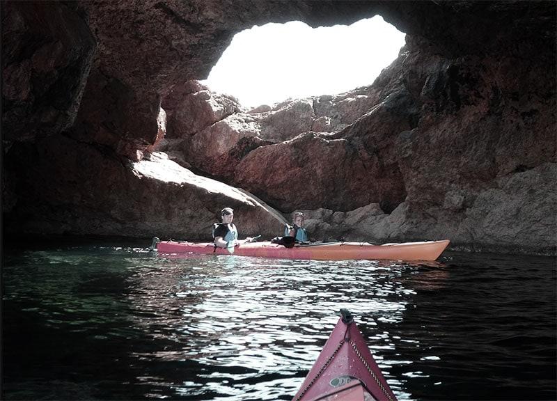 mykonos kayak