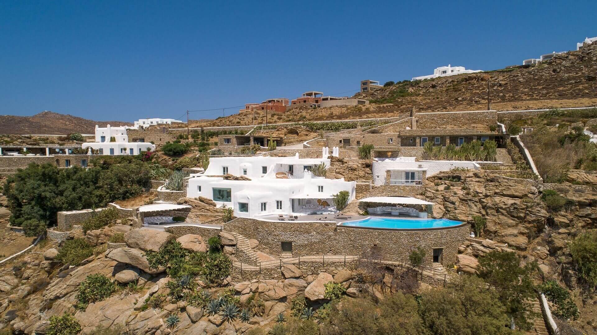 Villas in Tourlos Mykonos