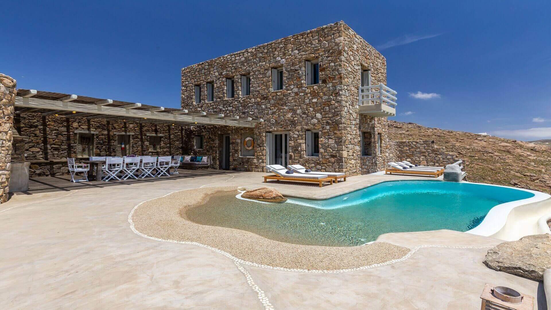 Luxury Holidays in Agrari, Mykonos