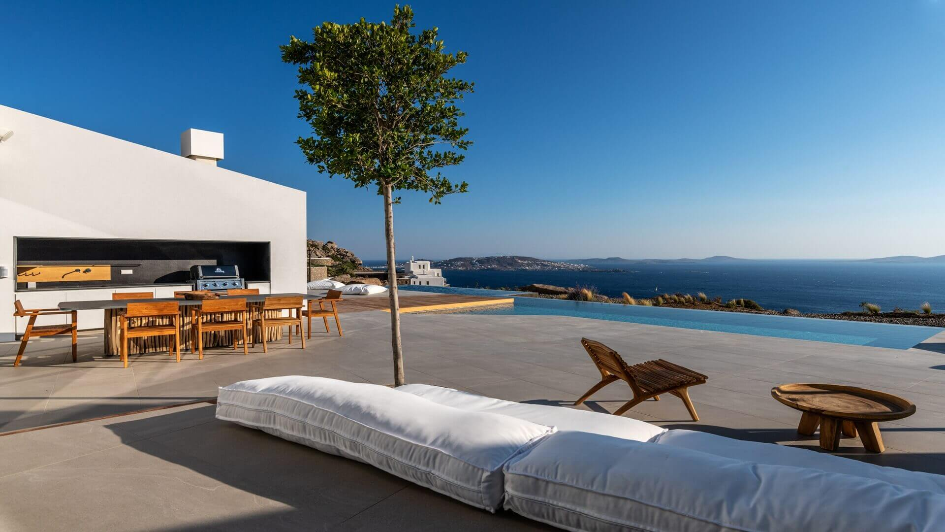 Villa Groovy Agios Stefanos Kinglike