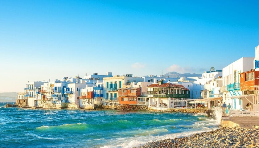 Little Venice – An utterly idyllic corner in Mykonos