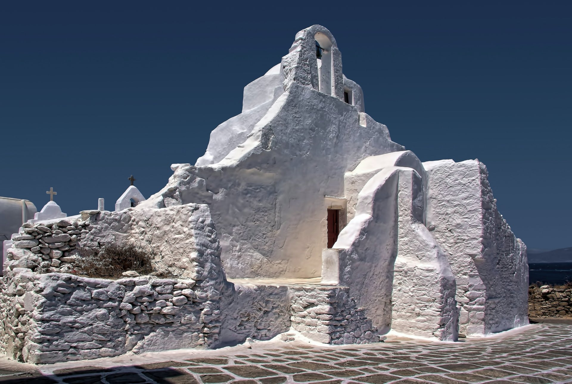 Mykonos The Church of Panagia Paraportiani