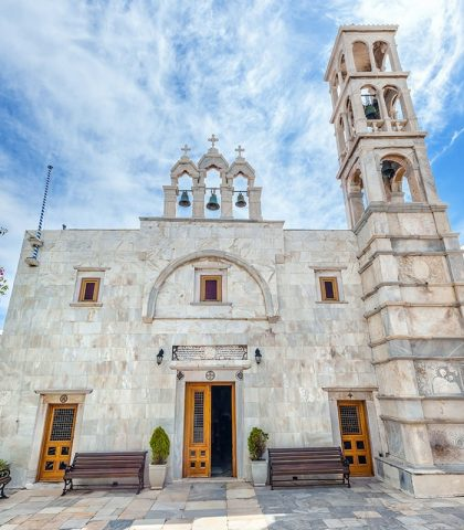 Panagia Tourliani Monastery – The Keeper of the Holy Icon of Virgin Mary