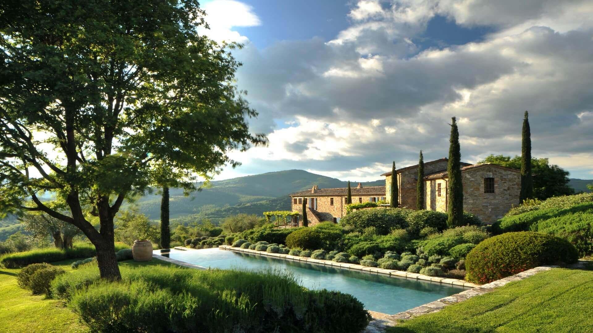 Villa Noci Lisciano Niccone Umbria