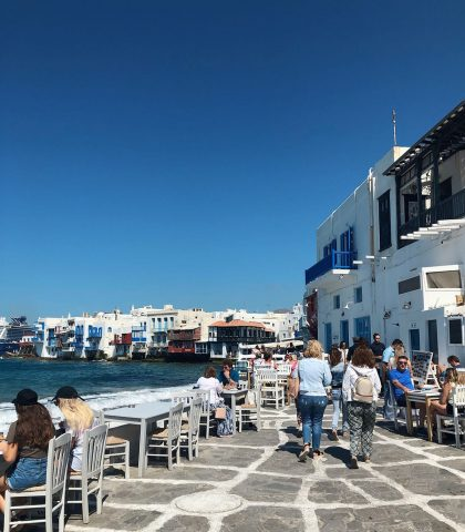 How Mykonos became the most cosmopolitan island in the Mediterranean?