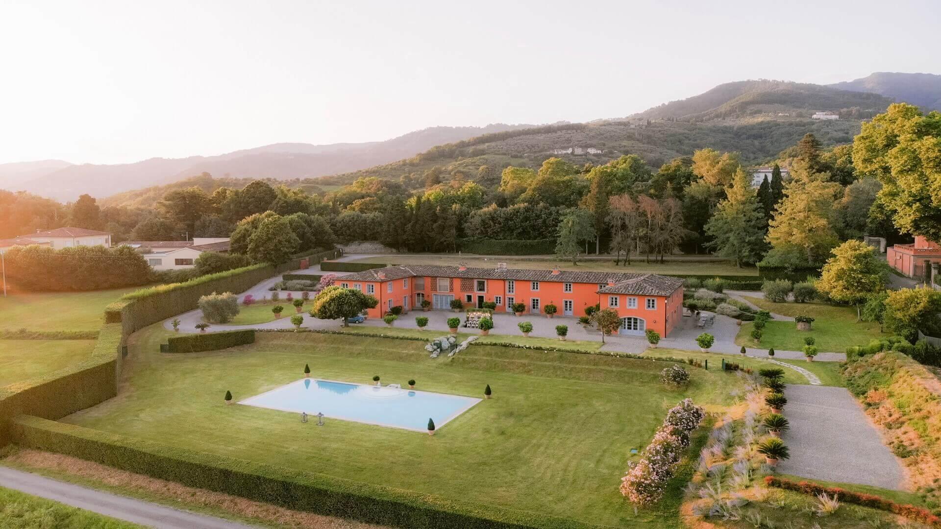 Villa Arancera Lucca Tuscany