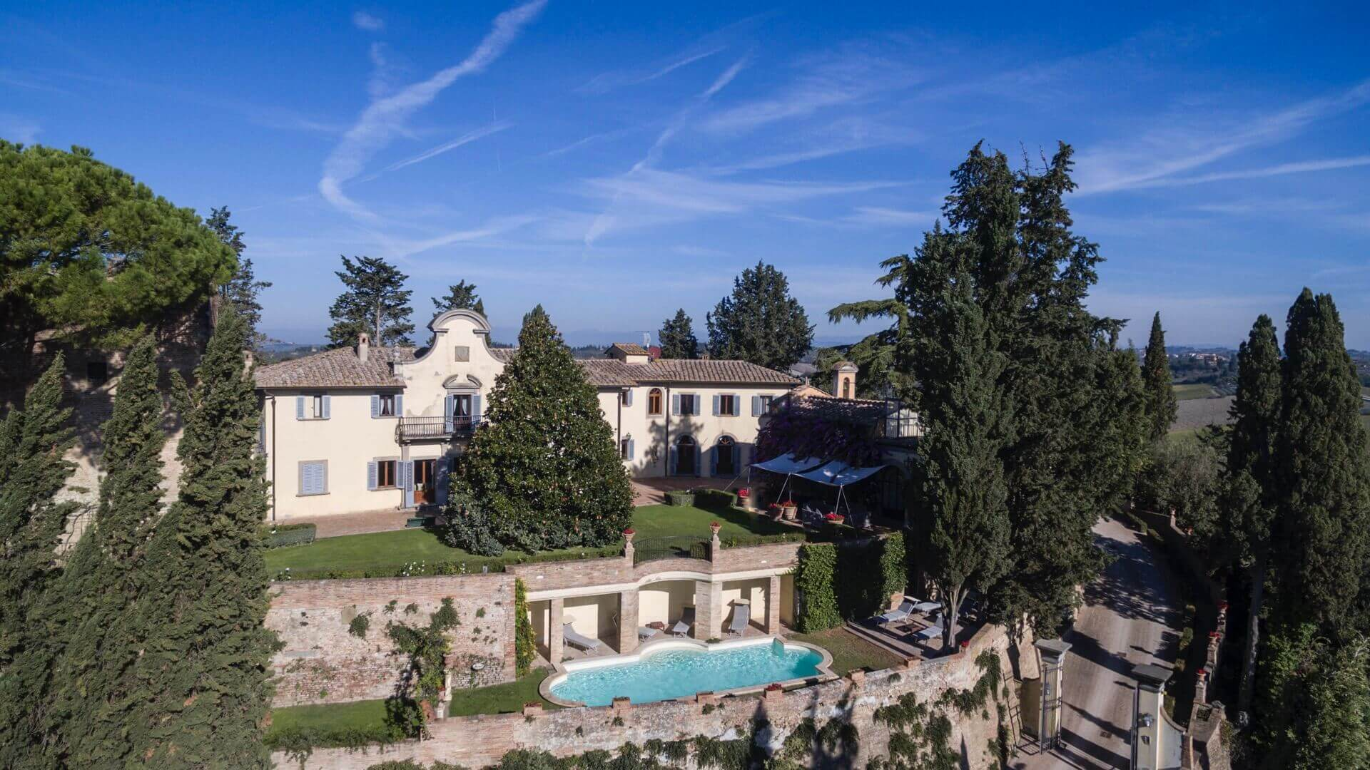 Villa Cabbiavoli Castelfiorentino Florence Tuscany