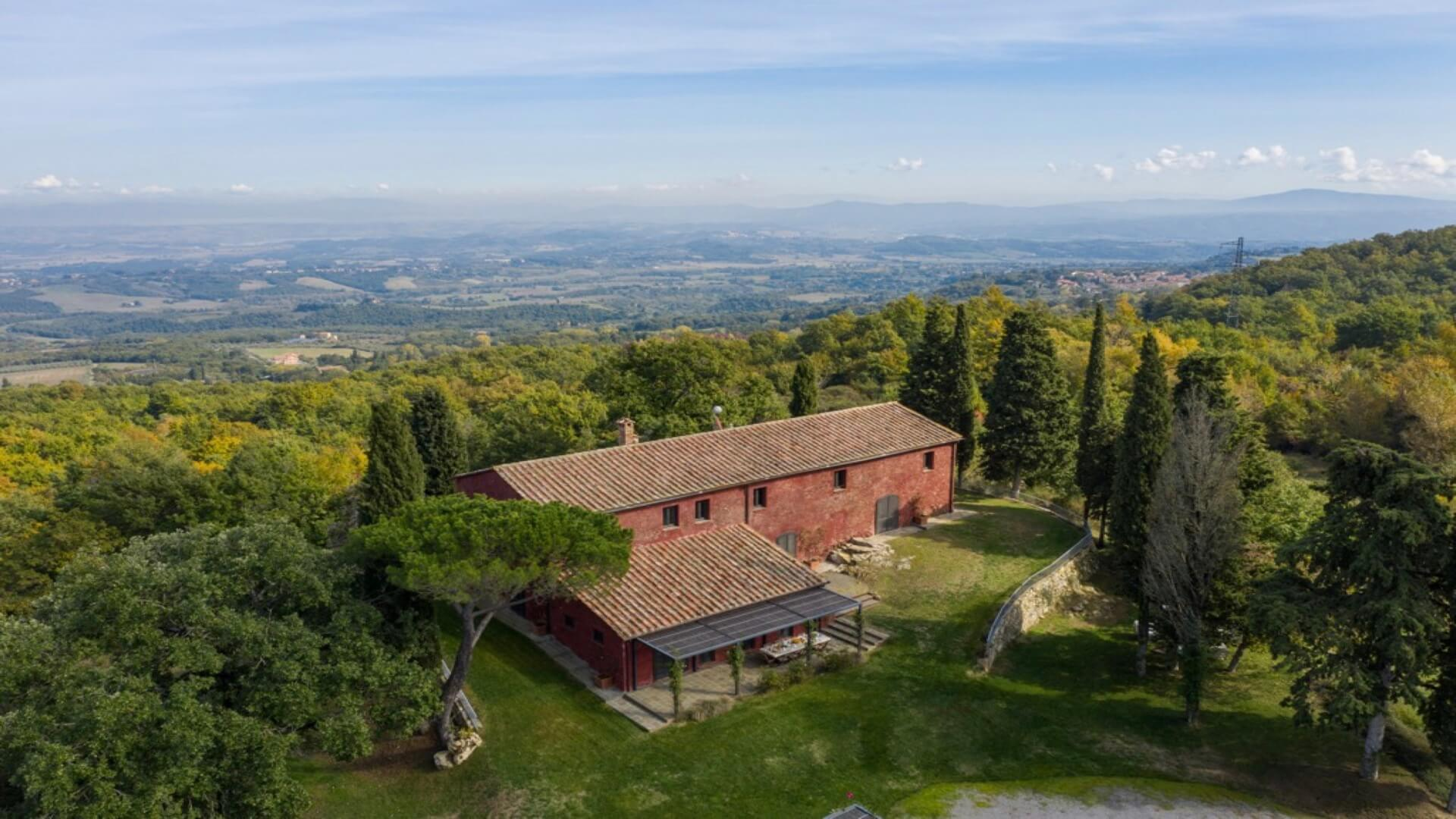 Villa San Bartolomeo Sarteano Val d'Orcia Tuscany