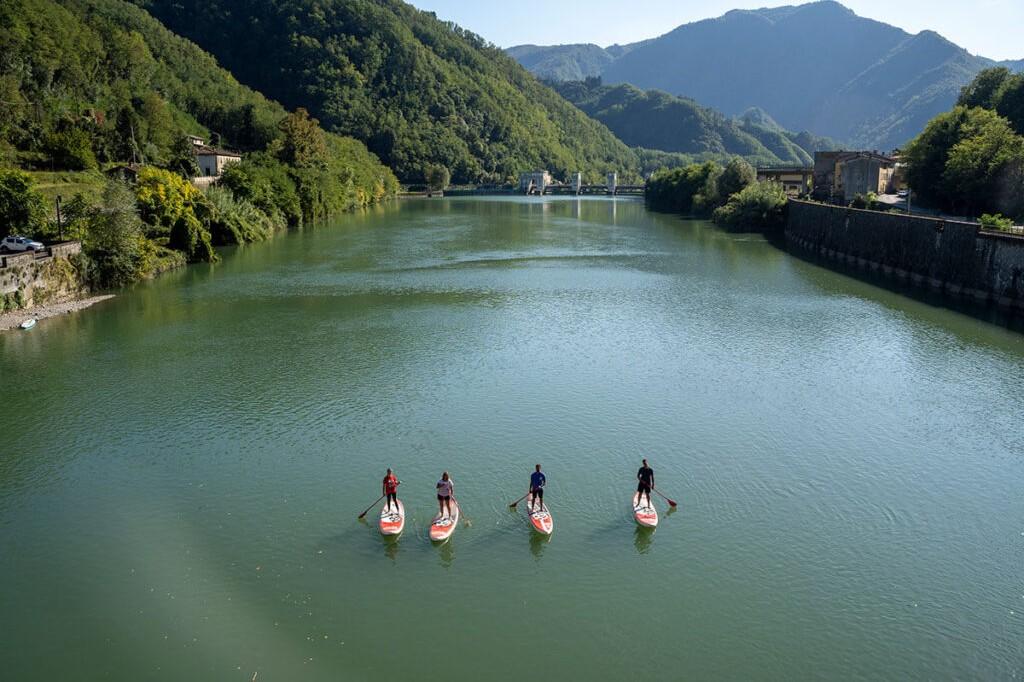 SUP in Lucca & Garfagnana - Toscana SUP
