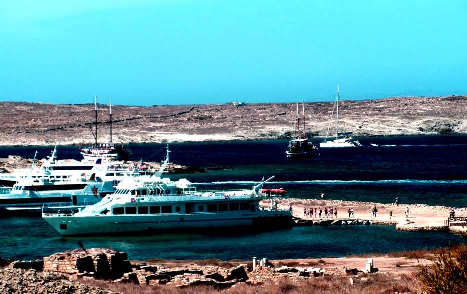 Rhenia Island Mykonos