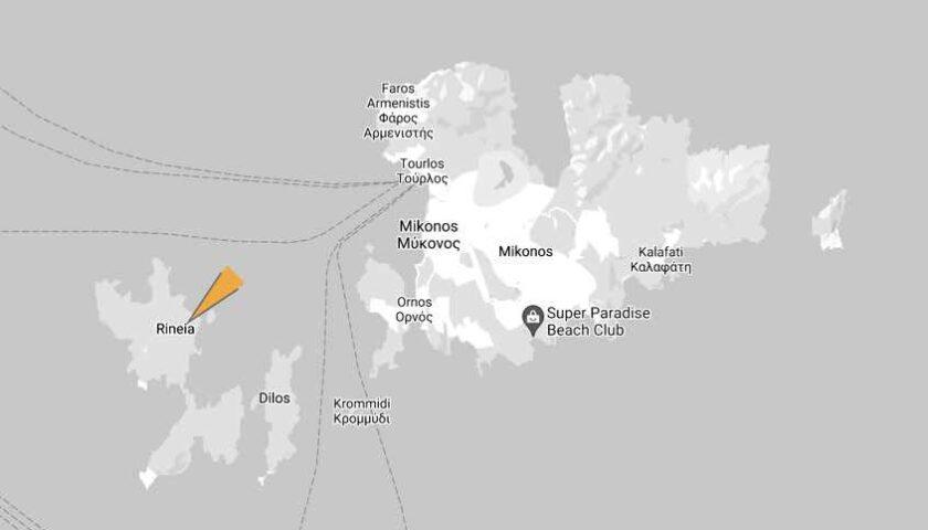 Rhenia Island, Mykonos – A Hidden Paradise